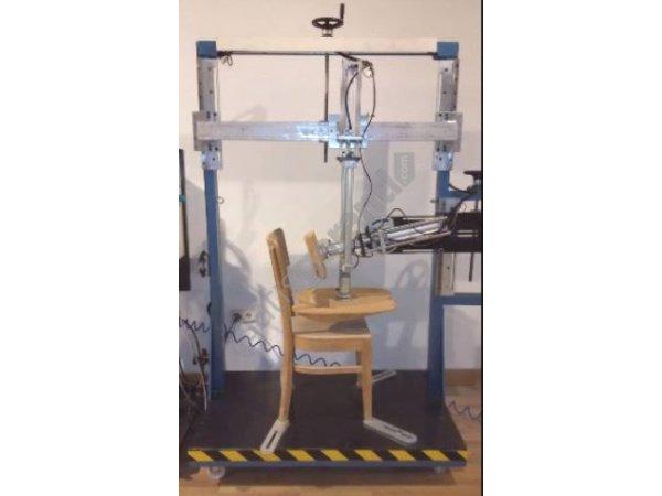 sandalye test makınesi