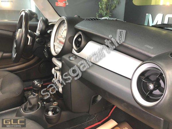GLC MOTORS'DAN 2009 MODEL MİNİ COOPER 1.6 CAM TAVAN+VAREX