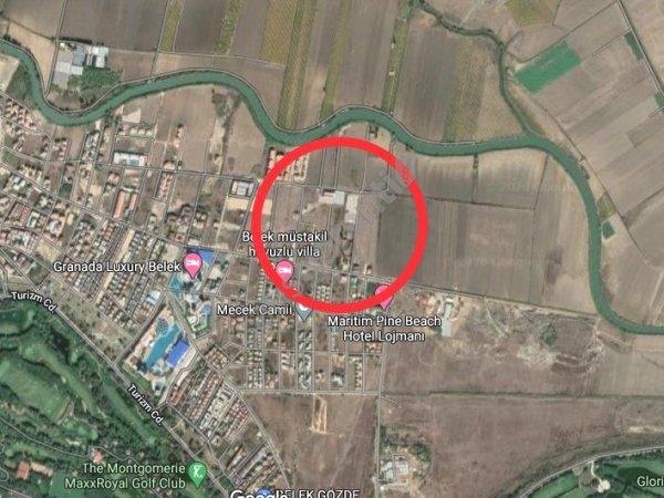 ANTALYA SERİK BELEK'TE 1100 m2 SATILIK KONUT İMARLI VİLLA ARSA