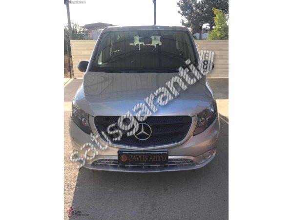 Antalya ilker Rent a car dan Mercedes Vito